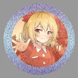 [TOHOPROJECT グッズ]東方project「秦 こころ」BIG缶バッジ