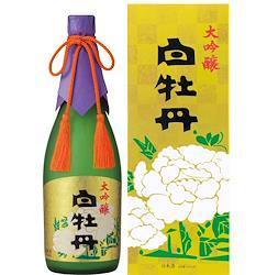 白牡丹 大吟醸 720ml瓶