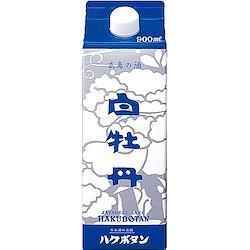 白牡丹 広島の酒 900mlパック  6本入