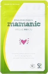 【管理栄養士監修】ママニック 葉酸サプリ 妊活 妊娠 124粒 鉄 カルシウム 乳酸菌 無添加 31日分