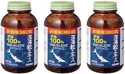 オリヒロ 深海鮫エキスカプセル徳用(360粒)3個セット