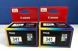 BC-341 キヤノン 3色カラー 純正 インク 341 2箱セット