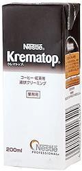 【まとめ買い】ネッスル クレマトップ業務用紙パック 200ml × 3個