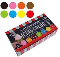 CK Products アイシングカラー 8色カラーセット
