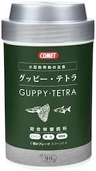 コメット 水槽 グッピー・テトラの主食 フレーク 90g