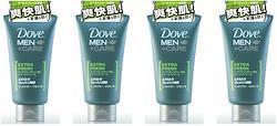 【まとめ買い】ダヴ エクストラフレッシュ洗顔 120g ×4個