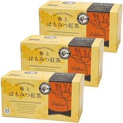 Lakshimi(ラクシュミー) 極上はちみつ紅茶 ティーバッグ25袋入り×3箱セット