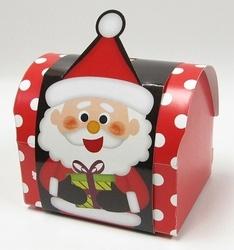 【クリスマス】スイーツドームサンタ レッド 50個