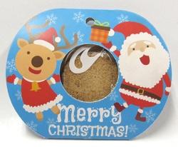 【クリスマス】Xmasポケット(2種) 50個 (ブルー25個 イエロー25個)