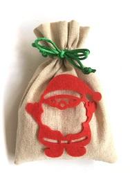 【クリスマス】サンタ巾着 100枚入り