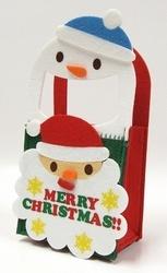 【クリスマス】スノーマンサンタバッグ 30個入り