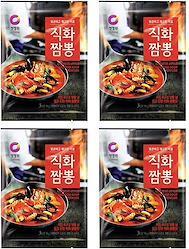 チャンポン 【直火チャンポン 4袋セット】麺料理 簡単調理 本格 チャンポンの素 業務用 韓国料理 ご飯のお供 ごはんのおとも