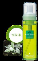 ハーブウォッシュ 210ml 【天然ハーブ由来でお肌に優しい】【敏感肌の方にも】【泡洗顔】