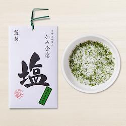 かみ舎楽 あおさのり塩  Kamisharaku  Aosa seaweed salt