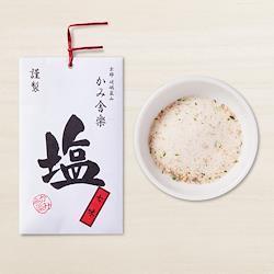 かみ舎楽 七味塩  Kamisharaku Shichimi salt