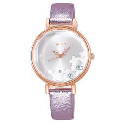 セイコー ワイアード エフ 腕時計 レディース シャイニーフラワー AGEK448 SEIKO WIRED トーキョーガールミックス TOKYO GIRL MIX 時計