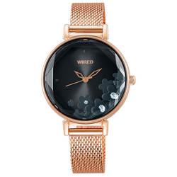 セイコー ワイアード エフ 腕時計 レディース シャイニーフラワー AGEK450 SEIKO WIRED トーキョーガールミックス TOKYO GIRL MIX 時計