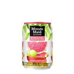 ミニッツメイドピンク・グレープフルーツ・ブレンド 280g缶1ケース24本入り