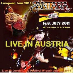 SANTANA - European Tour 2011 Wiesen