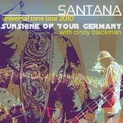 SANTANA - Universal Tone Tour 2010  Germany
