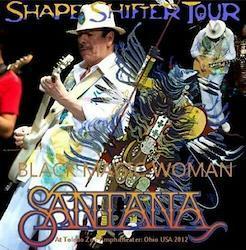 SANTANA - Shape Shifter East Coast Tour 2012 Ohio