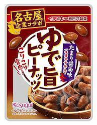 春日井製菓 ゆで旨ピーナッツ たまり醤油味 40g ×8袋