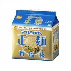 東洋水産 マルちゃん正麺 旨塩味 5食入×6個