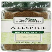 The Spice Hunter Allspice、Ground、Organic、1.6オンスジャー The Spice Hunter Allspice Ground Organic 1.6-Ounce Jar