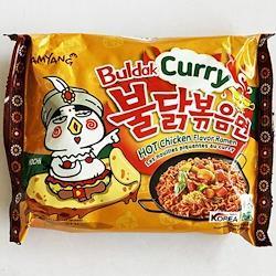 三養 カレー ブルダック炒め麺 10袋 カリー 韓国 食 食材 料理 プルタック ブルタック プルダッグ ブルダッグ ぶるだっく サンヤン SAMYANG