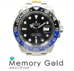 ROLEX ロレックス GMTマスターII Ref116710BLNR ランダム番 メンズ腕時計 仕上げ済み 写真参照 A17203