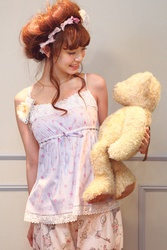 【direct sales】Talking Rose Camisole  Color: Blue