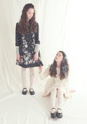 【direct sales】Falling Alice Dress  color:Brack