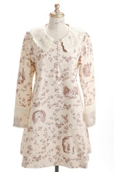 【direct sales】Secret Garden Dress  color: Ivory