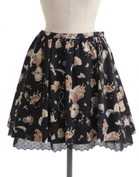 【direct sales】Antique Alice Skirt  color: Black