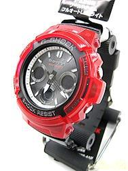 CASIO クォーツ・アナログ腕時計 AWG-M100SRB