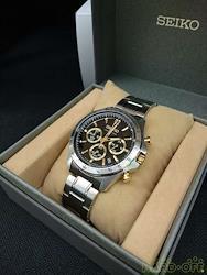 SEIKO クォーツ・アナログ腕時計 8T63-00D0