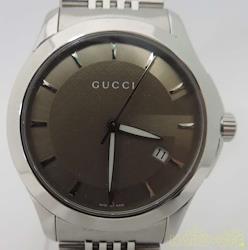 GUCCI クォーツ・アナログ腕時計 YA126406