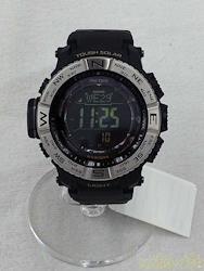 CASIO クォーツ・デジタル腕時計 PRW-3510 ソーラー電波