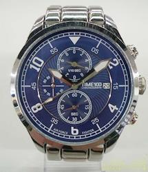TIME100 クォーツ・アナログ腕時計 W80092G