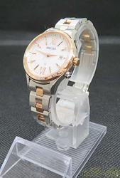 SEIKO クォーツ・アナログ腕時計 1B35-0AB0