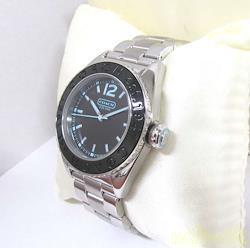 COACH クォーツ・アナログ腕時計 W930