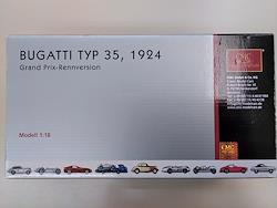 ブガッティ TYPE35 1924 GRAND PRIX-RENNVERSION M-063 CMC 1/18スケール車