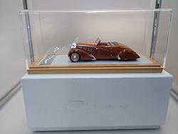 ブガッティ T57 P.NEE 1934 CHRO050 CHROMES 1/43スケール車
