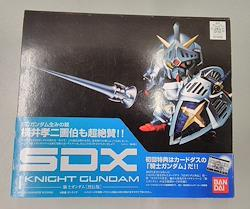 SDX 騎士ガンダム[列伝版] BANDAI リアルロボット