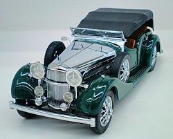 1938年型 アルヴィス 4.3リッター THE 1938 ALVIS 4.3LITTER FRANKLIN MINT 車・電車