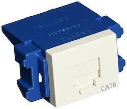 パナソニック(Panasonic) ぐっとす情報モジュラジャック CAT6 ミルキーホワイト NR3170
