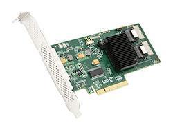 LSIロジック LSI00194 / LSI PCIEx8(Gen2.0) SATA/SAS 6Gb/s 内部8ポート HBA LSI SAS 9211-8i Single Pack