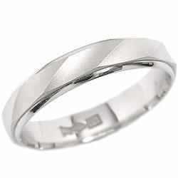 Pt900 プラチナ マリッジリング 結婚指輪 ペアリング フローレス 24.0号