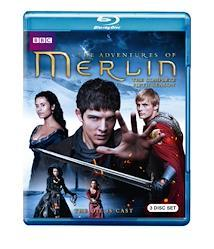 Merlin: The Complete Fifth Season [Blu-ray] [Import]