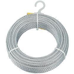 TRUSCO(トラスコ) メッキ付ワイヤロープ Φ9mm×100m CWM-9S100